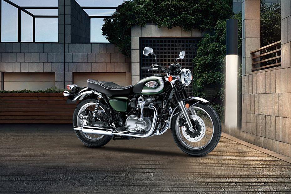 Kawasaki W800 Slant Front View Full Image