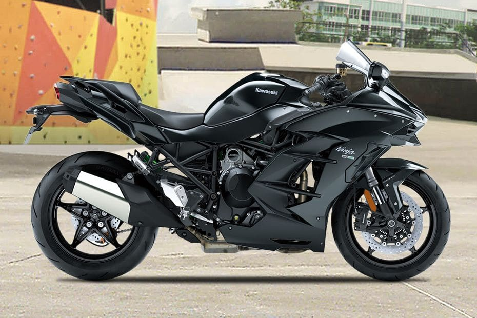 Kawasaki Ninja H2SX Right Side Viewfull Image