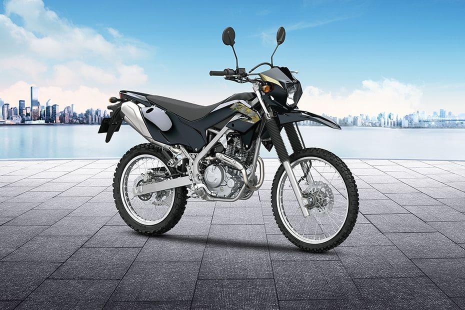 Kawasaki KLX 230 Slant Rear View Full Image
