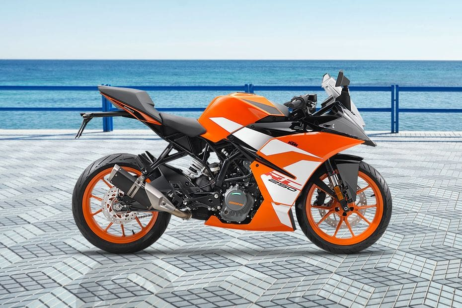 KTM RC 250 Right Side Viewfull Image