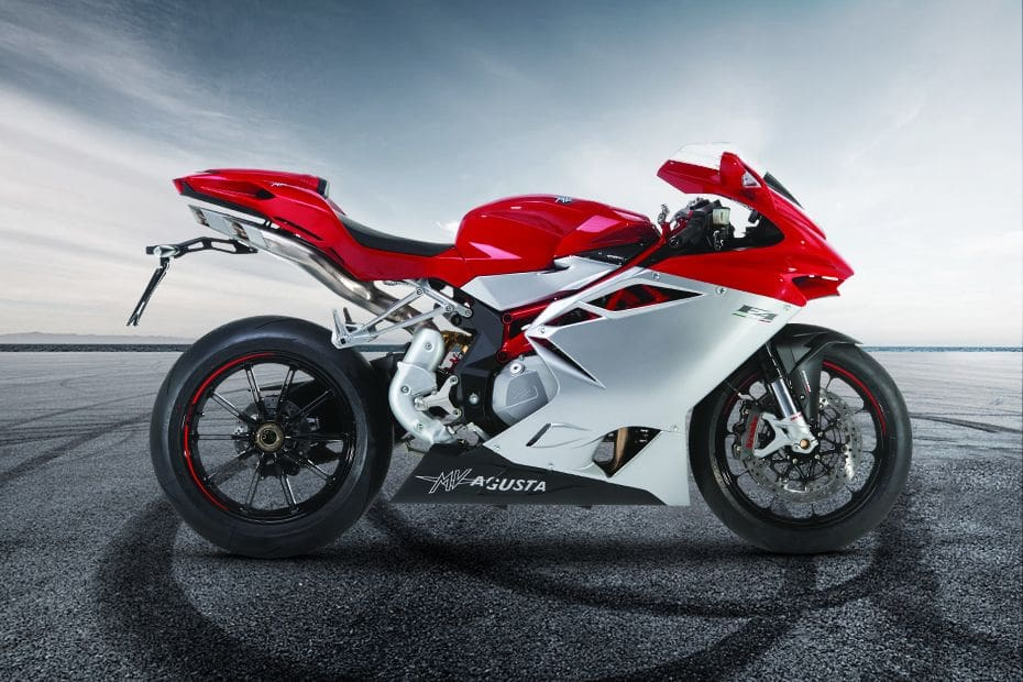 MV Agusta F4 Right Side Viewfull Image