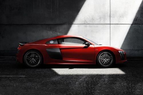 Tampak kanan Audi R8