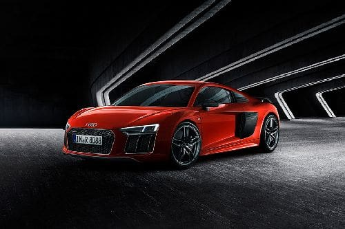 R8 Front angle low view