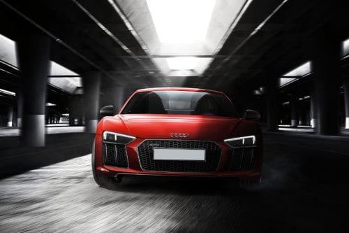 Tampak Depan Audi R8