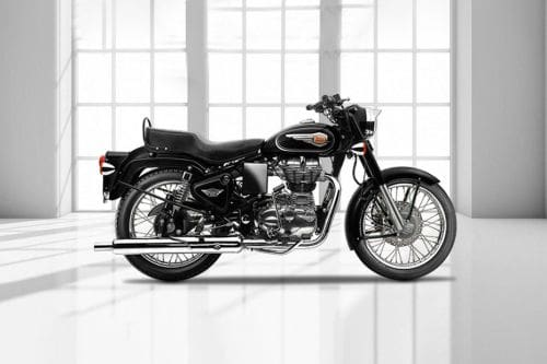Royal Enfield Bullet 500 Right Side Viewfull Image