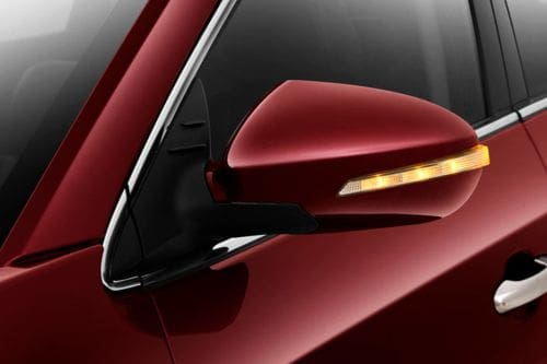 DFSK Glory 580 Drivers Side Mirror Front Angle