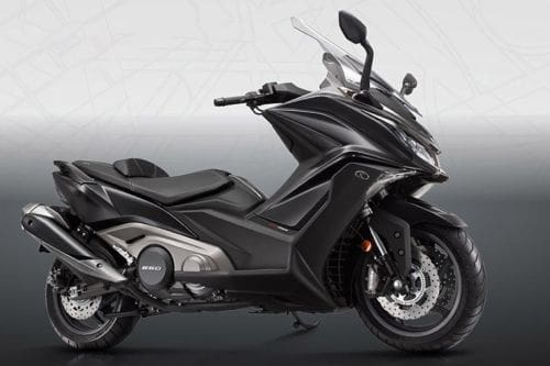 Kymco AK 550 Right Side Viewfull Image