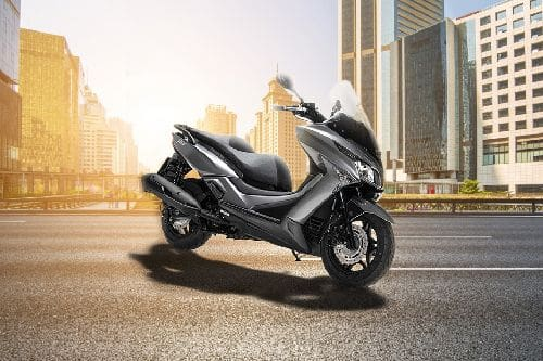 Kymco X-Town 250i Slant Rear View Full Image