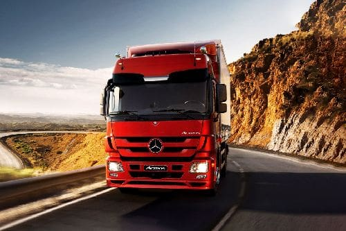 Actros Front angle low view