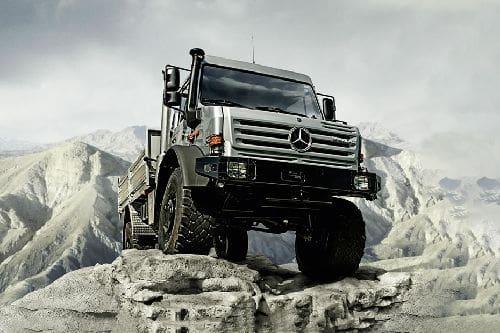 Mercedes Benz Unimog
