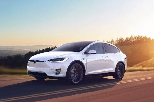 Model X Front angle low view