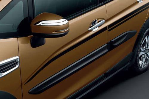 Honda WRV Drivers Side Mirror Front Angle