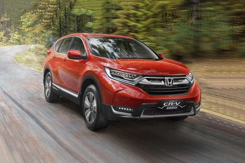 Honda CRV Front Cross Side View