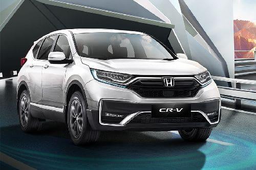 Tampak depan medium Honda CRV