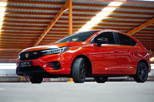 Honda City Hatchback Front Side View