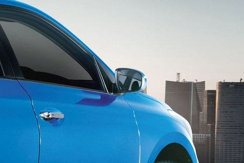 Hyundai i20 2021 Drivers Side Mirror Rear Angle