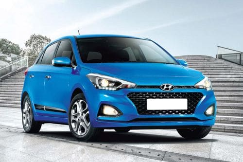Hyundai i20 2021 Front Cross Side View