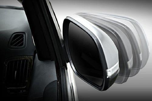 Hyundai H1 Drivers Side Mirror Rear Angle