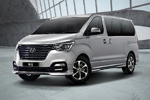 Hyundai H1 Front Side View