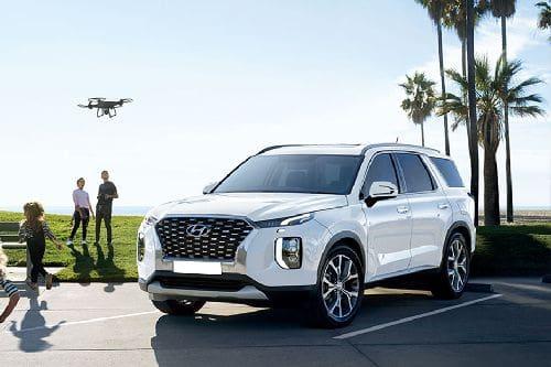 Hyundai Palisade Front Side View