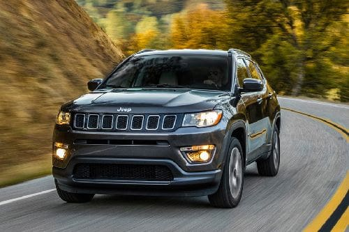 Jeep Compass Front Side View