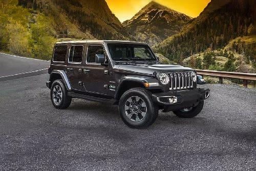 Tampak Depan Bawah Jeep Wrangler