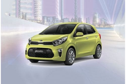 Picanto (2015-2018) Front angle low view