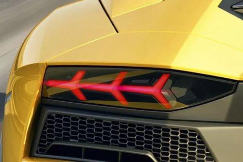 lampu belakang Aventador