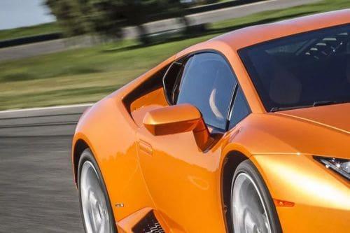 Lamborghini Huracan Drivers Side Mirror Front Angle