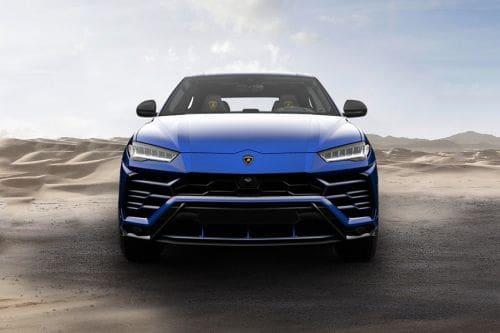 Tampak Depan Lamborghini Urus