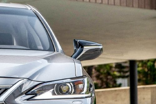Lexus ES Drivers Side Mirror Front Angle