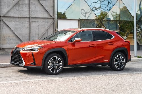 Lexus UX Front Side View