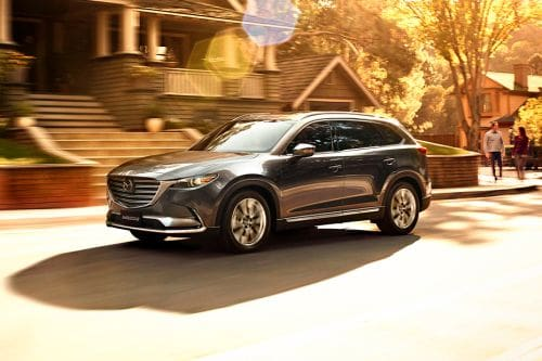 CX 9 Front angle low view