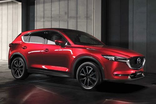 Mazda CX 5 Front Cross Side View