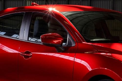 Mazda 2 Drivers Side Mirror Front Angle