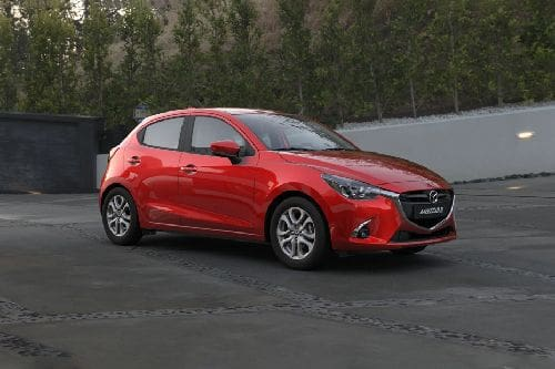 Mazda 2 Front Cross Side View