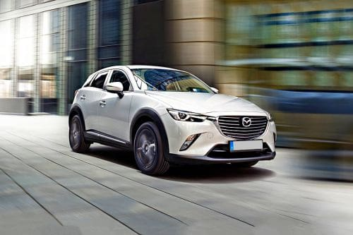 CX3 Front angle low view