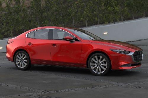 Mazda 3 Sedan Front Cross Side View