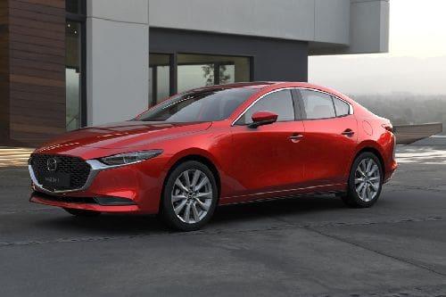 Mazda 3 Sedan Front Side View