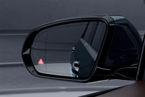 Mercedes Benz E-Class Drivers Side Mirror Rear Angle