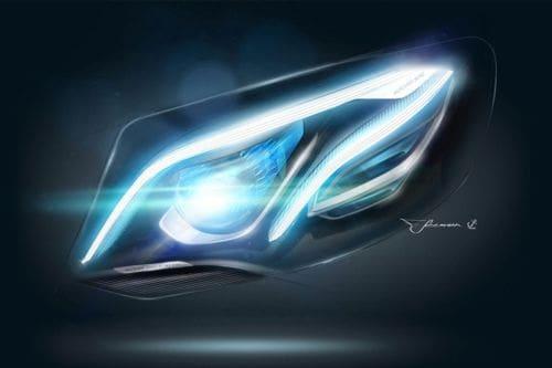 E-Class Headlight
