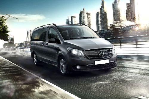 Tampak Depan Bawah Mercedes Benz Vito