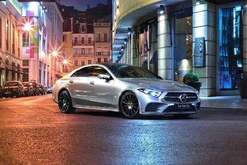 Tampak Depan Bawah Mercedes Benz CLS-Class