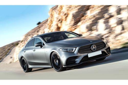 Mercedes Benz CLS-Class Front Cross Side View