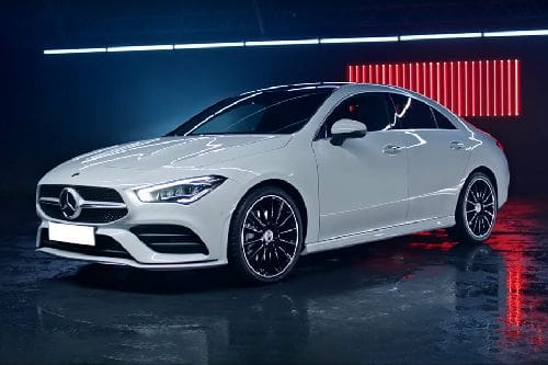 Mercedes Benz CLA-Class Front Side View