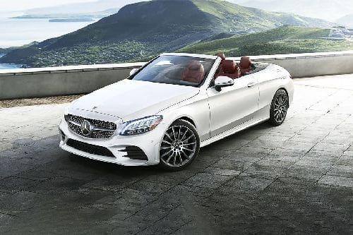 C-Class Cabriolet Front angle low view