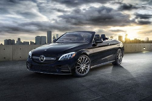Mercedes Benz C-Class Cabriolet Front Side View