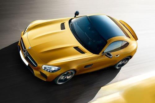 Tampak atas AMG GT