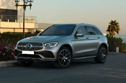 Mercedes Benz GLC-Class Front Side View