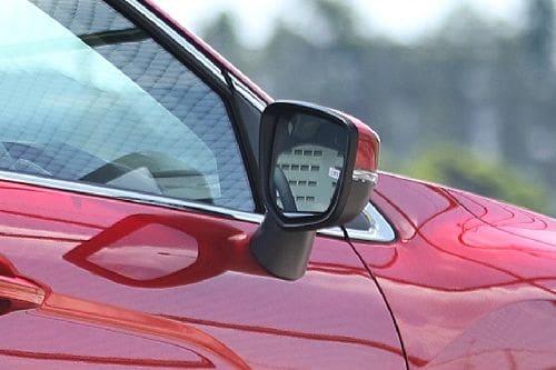Mitsubishi Eclipse Cross Drivers Side Mirror Rear Angle